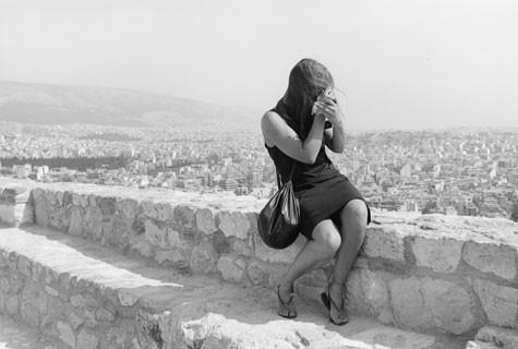 Tod Papageorge, The Acropolis, Athens, 1984