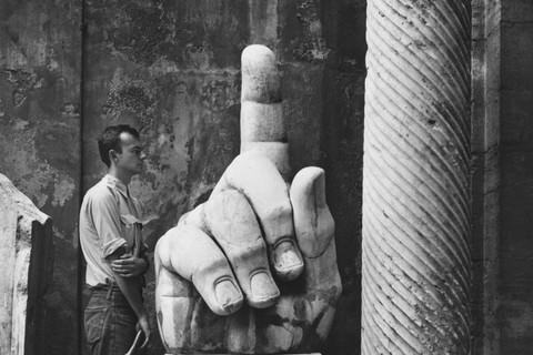 Robert Rauschenberg, Cy & Relics, Rome, 1952