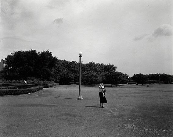 Harry Callahan, Eleanor and Barbara, Chicago, c. 1954