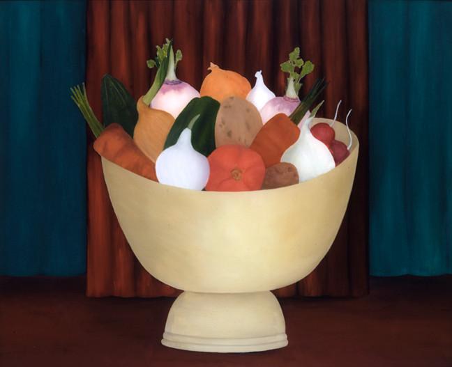 Rebecca Salsbury (Strand) James (1891-1968), Bowl of Begetables, 1940