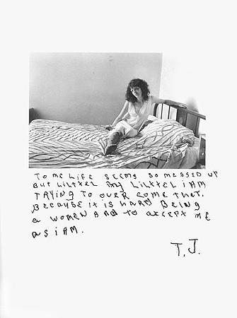 Jim Goldberg, Untitled (To me life seems ...), 1977