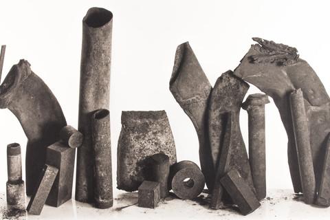 Irving Penn, Twenty Metal Pieces, New York, 1980