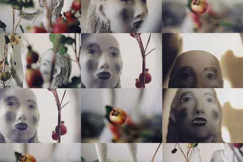Kiki Smith, Eve in the Pomegranates, 2001