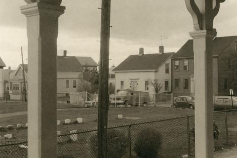 Richard Benson, 53 Tilden Avenue Porch, 1976