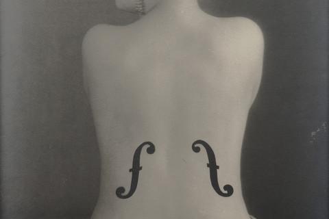 Man Ray (American, 1890-1976), Le Violon d'Ingres, 1924