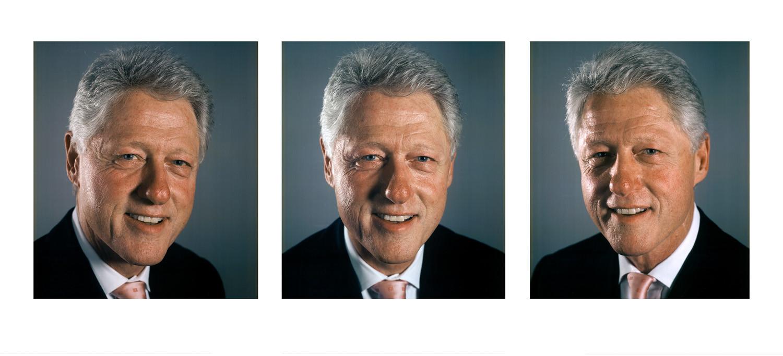 Chuck Close, Bill Clinton, 2009