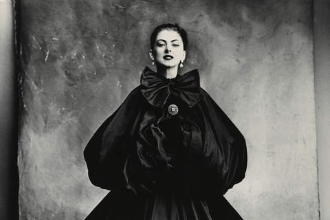 Irving Penn, Balenciaga Harem Dress (Diane), Paris, 1950