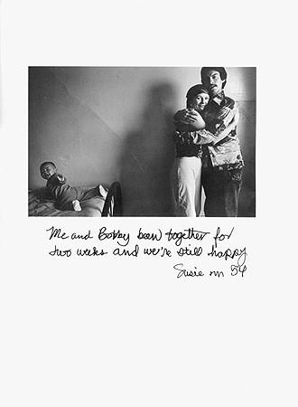 Jim Goldberg, Untitled (Me and Bobby ...), 1977