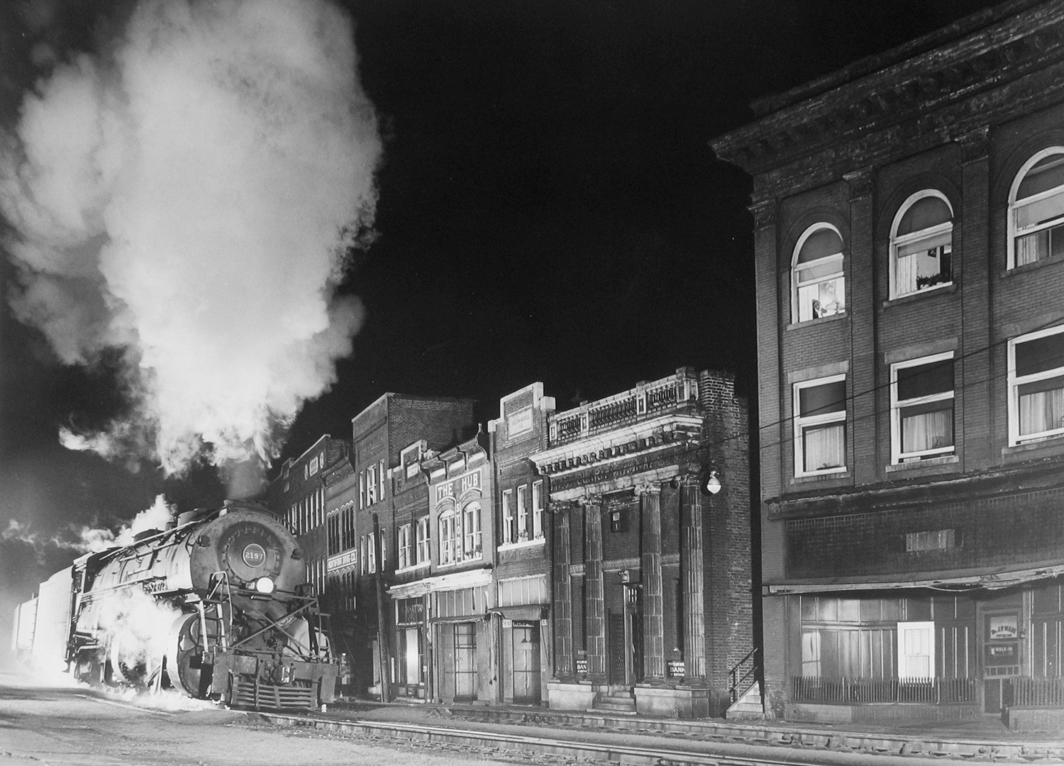 O. Winston Link, Main Line on Main Street, Northfork, West Virginia, 1958