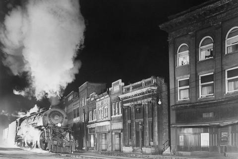 O. Winston Link, Main Line on Main Street, Northfork, West Virginia, 1958