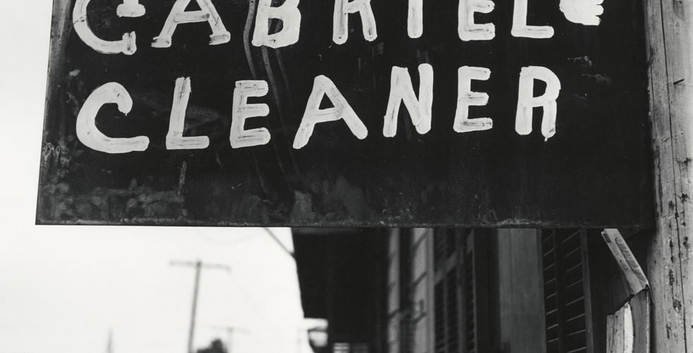 Irving Penn, Gabriel Cleaner, American South, 1941