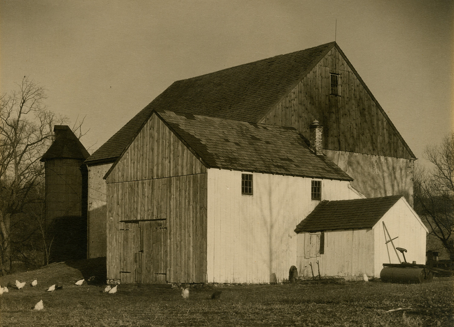 Charles Sheeler, Bucks County Barn, 1918