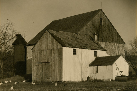 Charles Sheeler, Bucks County Barn, 1918