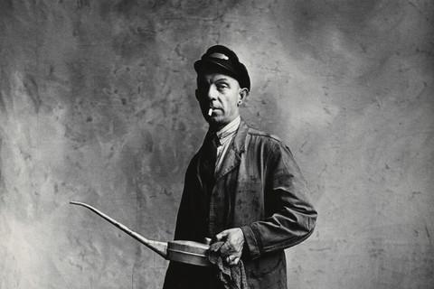 Irving Penn, Engine Driver, London, 1950