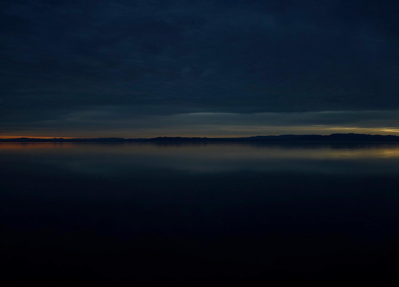 Richard Misrach, Salton Sea (Dusk), 2009