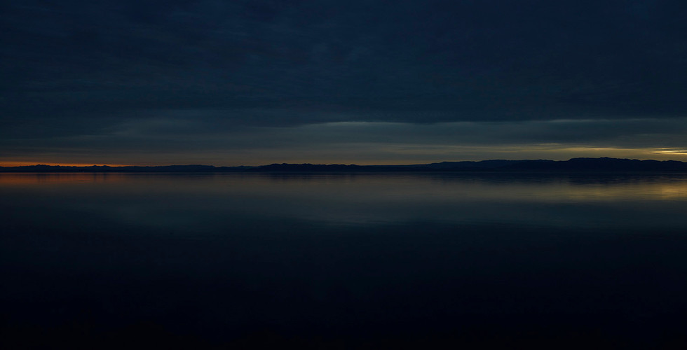 Richard Misrach, Salton Sea (Dusk), 2009