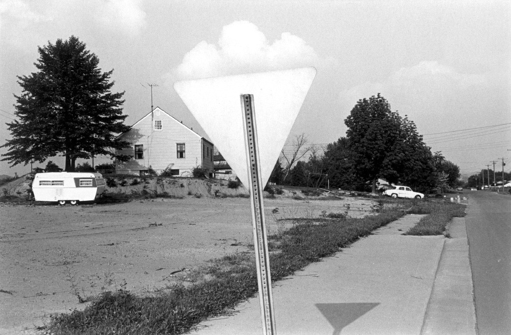 Lee Friedlander, Knoxville (House, Trailer, Sign and Cloud), Tennessee, 1971