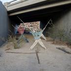 Richard Misrach, Effigy #2, near Jacumba, California / Efigie no. 2, cerca de Jacumba, California, 2009