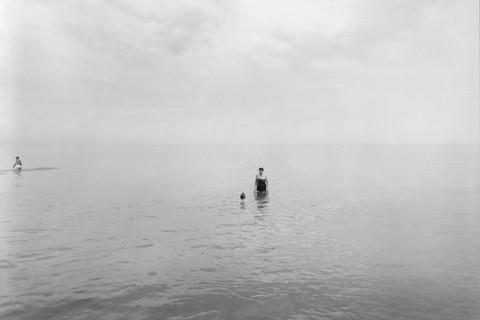 Harry Callahan, Lake Michigan, 1953