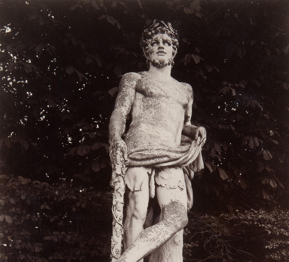 Eugène Atget (French, 1857-1927), Versailles (Poème Satirique), c. 1910