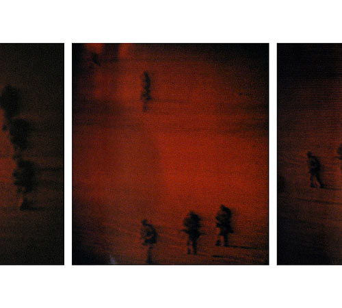 Michal Rovner, Decoy #12, 1991