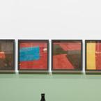 Yto Barrada, Untitled (felt circus flooring, Tangier), 2013/2015