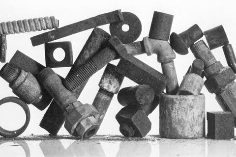 Irving Penn, Construction Leftovers, New York, 1980