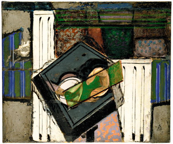 Alfred Maurer (1868-1932), Still Life with Grey Table and White Columns, 1929-32