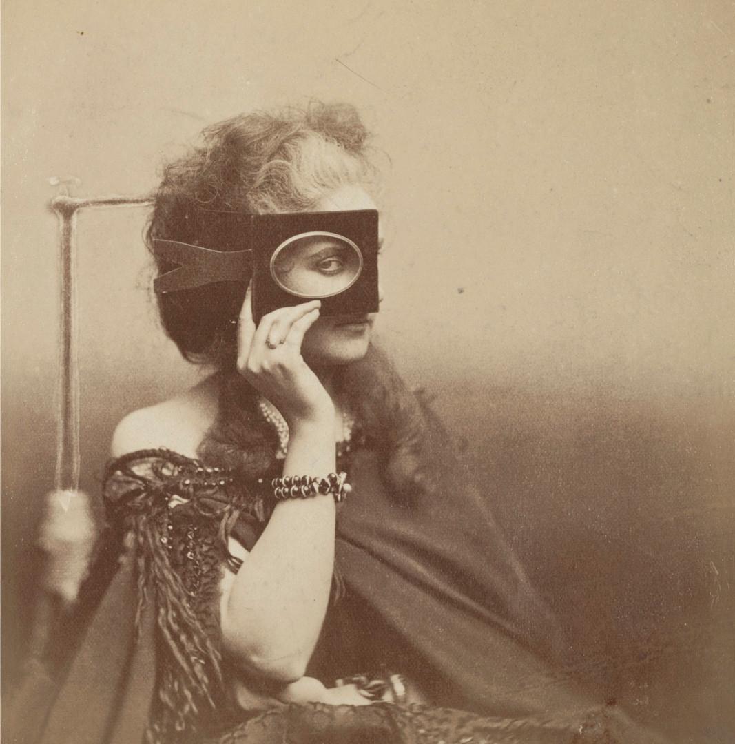 Pierre-Louis Pierson, La Comtesse de Castiglione (Scherzo di Follia), 1863-66