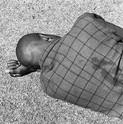 David Goldblatt, Man sleeping, Joubert Park, Johannesburg, August 1975