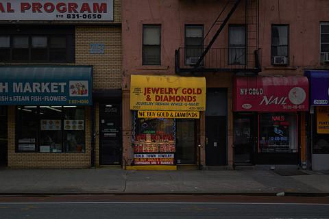 Paul Graham, Gold Town Jewelry, East Harlem, New York, 2012