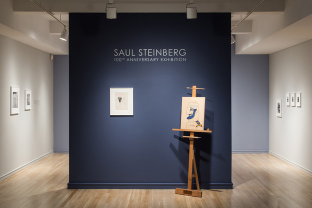 Saul Steinberg: 100th Anniversary Exhibition