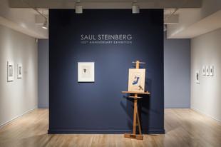 Saul Steinberg: 100th Anniversary Exhibition