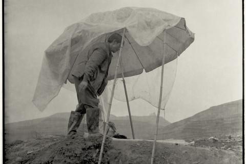 Adou, Umbrella and Man, 2006