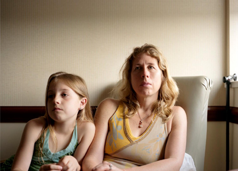 Jocelyn Lee, Untitled (Isabelle and Lauren in hospital), 2008