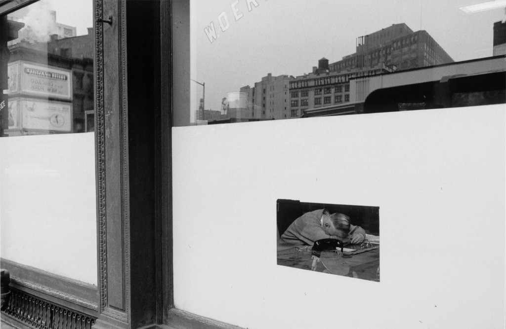 Lee Friedlander, New York (Man in Window), 1964