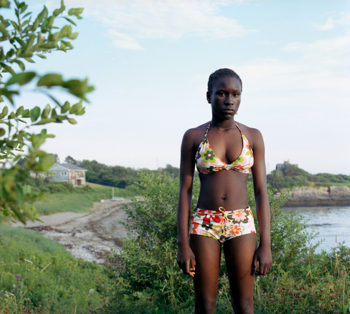 Jocelyn Lee, Untitled (Julia standing at Kettle Cove), 2005