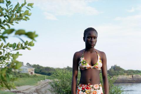 Jocelyn Lee, Untitled (Julia standing at Kettle Cove), 2005