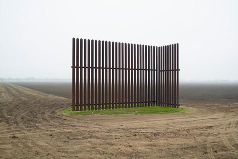 Richard Misrach, Wall, Near Los Indios, Texas, 2015
