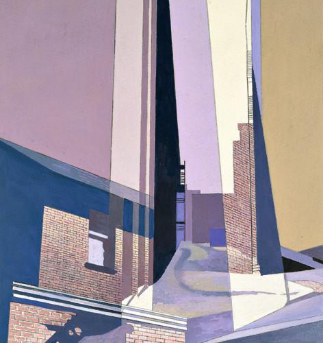 Charles Sheeler (1883-1965), New England Irrelevancies, 1953