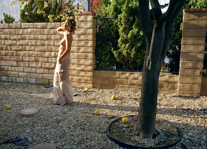 Larry Sultan, Woman in Garden, Mission Hills, 1999