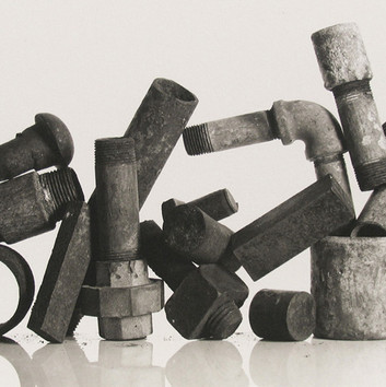 Irving Penn, Still Life with Plumbing Pieces (Version C), New York, 1980
