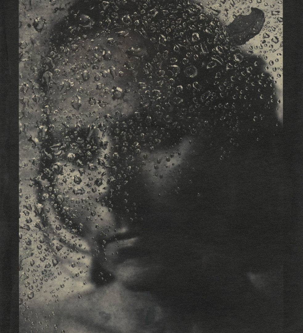 Emmet Gowin, Edith (Rain droplets in a web), 2004
