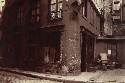 Eugène Atget, Coin Rue de la Colombe, 1923