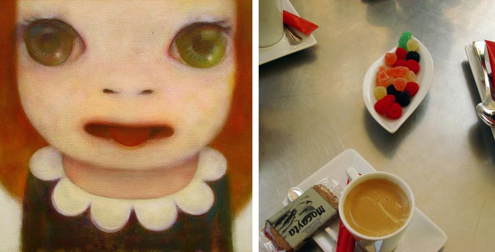 Yoshitomo Nara, Sweet Rouge / Sweet Rouge, 2008