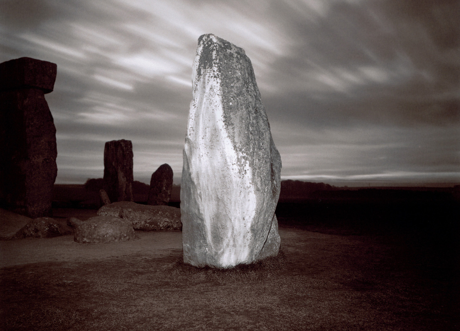 Richard Misrach, Untitled (Stonehenge #4), 1976