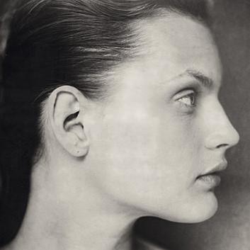 Paolo Roversi, Profile of Guinevere, Paris, 1996