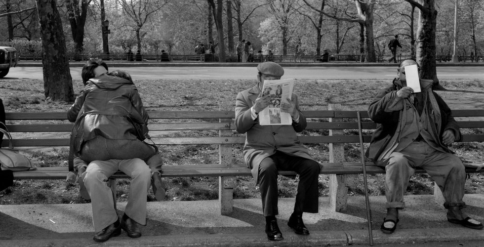 Tod Papageorge, Central Park, 1979