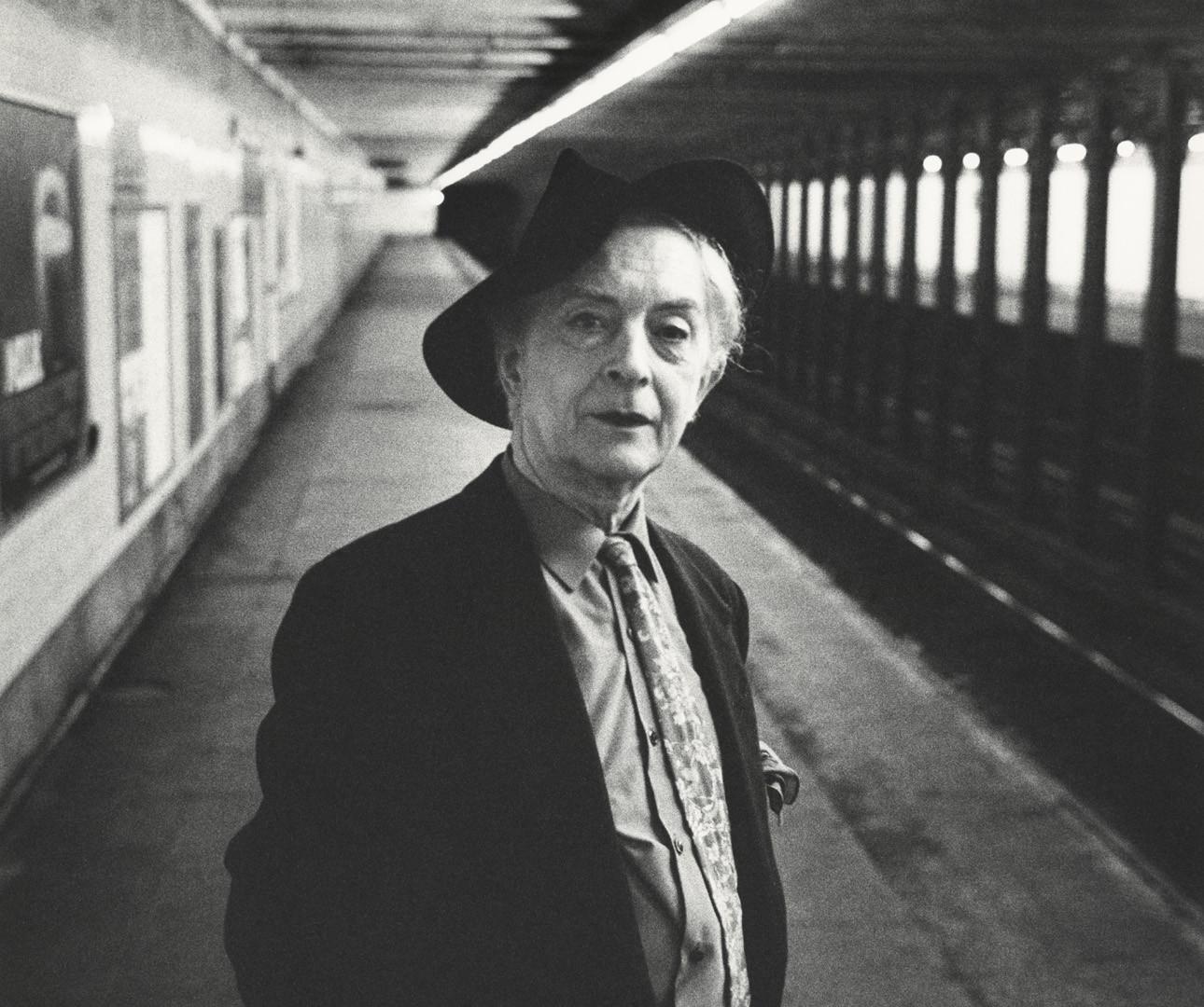 Peter Hujar, Quentin Crisp, 1982