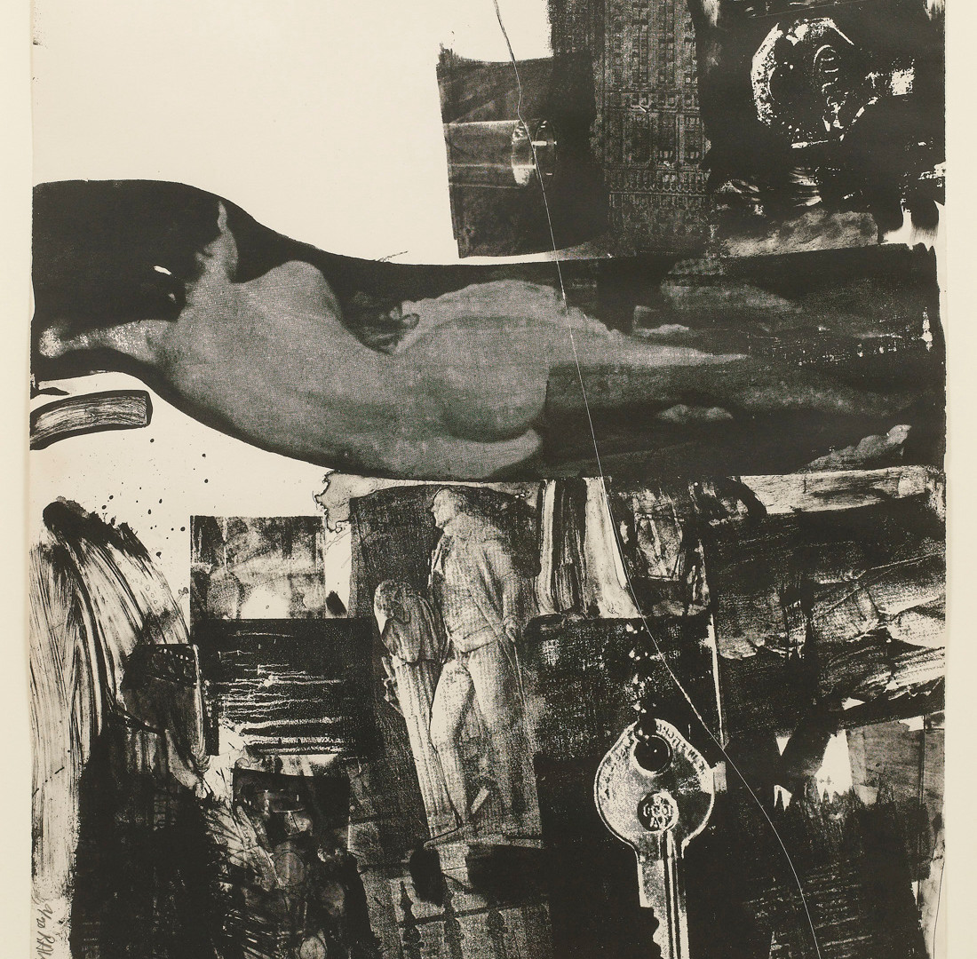 Robert Rauschenberg, Breakthrough I, 1964